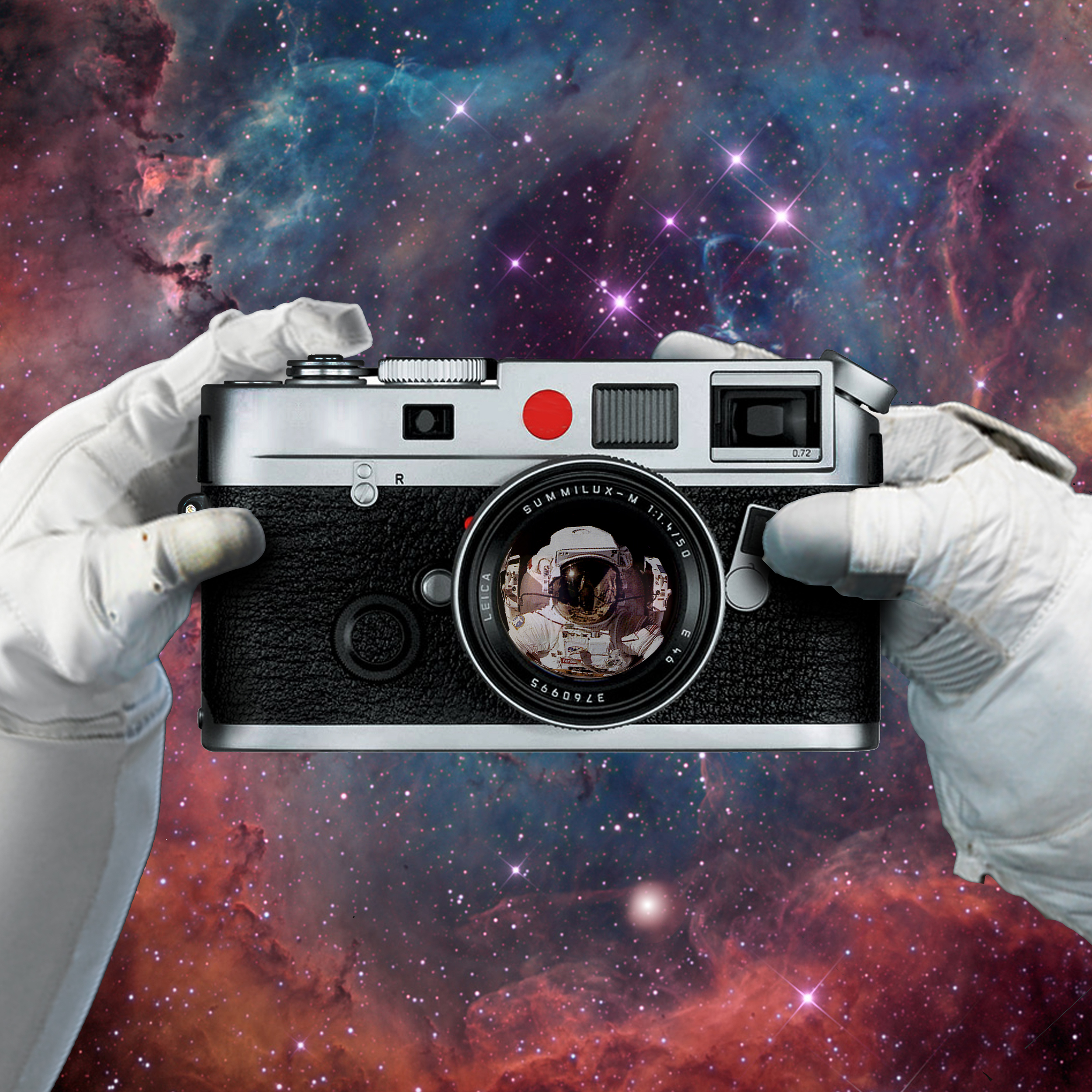 Astronaut Selfi