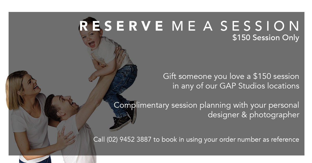 $150 Reserve Me A Session Gift Voucher