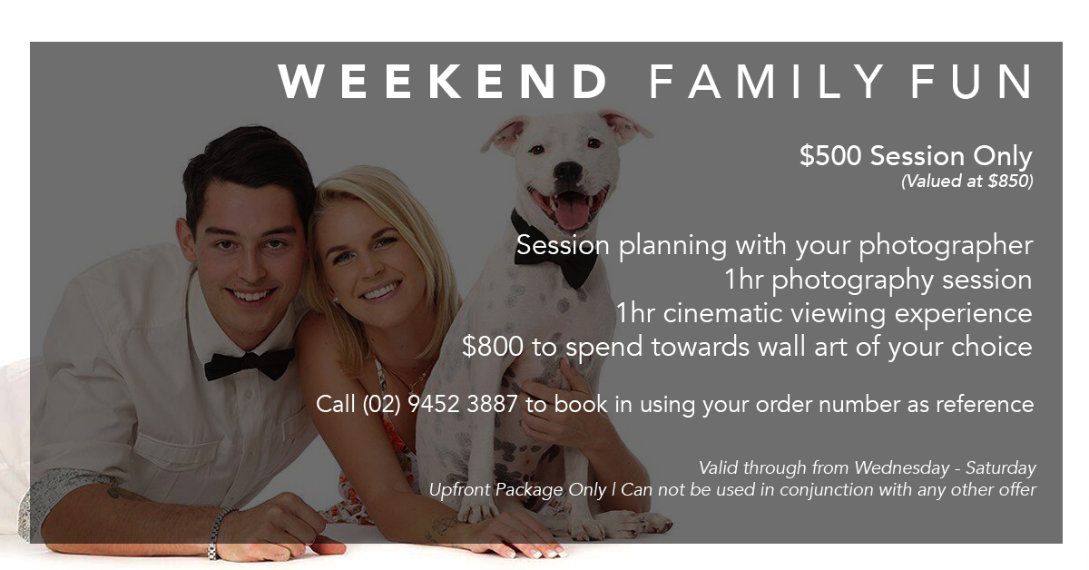$500 Weekend Family Fun Gift Voucher