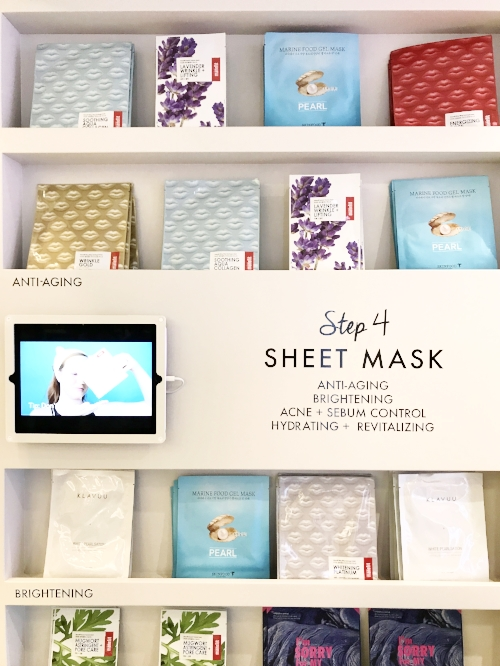 Sheet mask wall