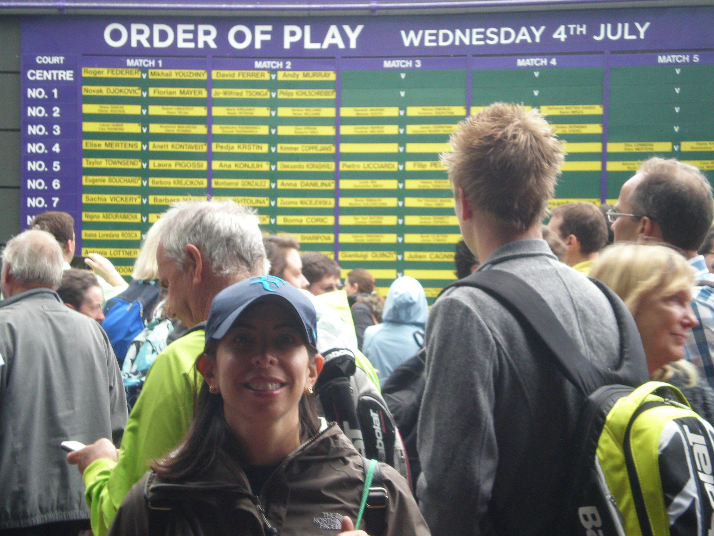Blog of my tennis travel experiences