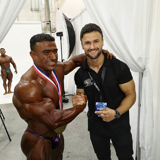 And your new Mr. Olympia, 212 Champion @ifbb_pro_kemo 🏆. Extremely happy and proud of you my brother! You did it 🥇💪