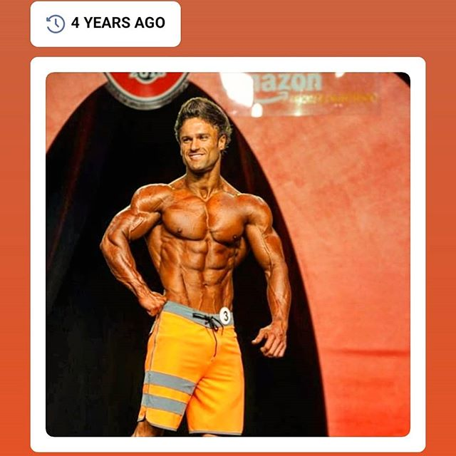 """Facebook reminder of the possibilities: """"What we could look like, after a few coats of tan""""! My first year at Olympia in 2015 and not many could imagine the lengths I went to, in order to bring my leanest physique onto the stage. The norm was three workout session days and extreme dieting. I wouldn't push many to this extent, but I did. Three weeks prior to this show, I woke in the middle of the night. I had dreamt that a fellow competitor told me on stage, that I looked fat 😂 There were no sleeps-ins or missed cardio sessions after that, believe me 😁 The tricks that your mind plays, when you are at your weakest and most vulnerable is where you learn to overcome these thoughts, and made me love these preps, more than anything. It's cliche - but it really does show you what you are made of. Do you roll and curl in a human ball and blame genetics, the stars, and the air you breathe or do you stand up, dust off and ram forward? 👀"""