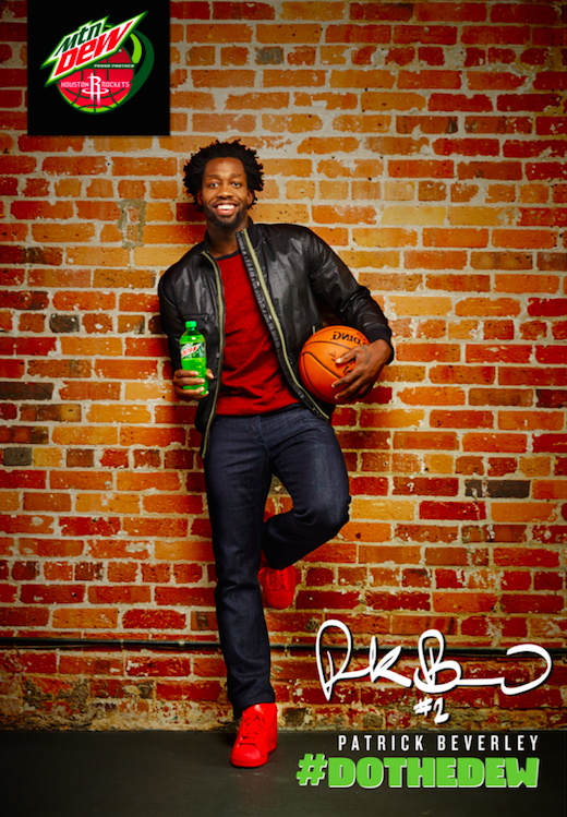 stylist:  Mimi Le-   Patrick Beverley for Mountain Dew