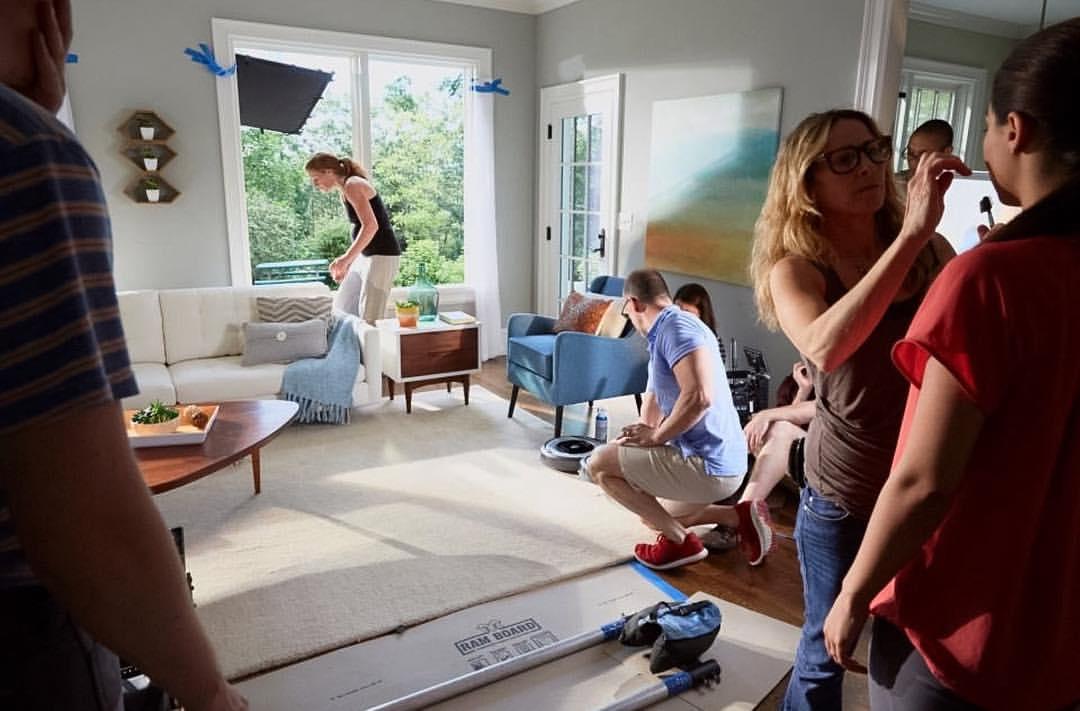 iRobot Behind the Scenes shot by Angela Coppola / H & MU by Kathleen Schiffman