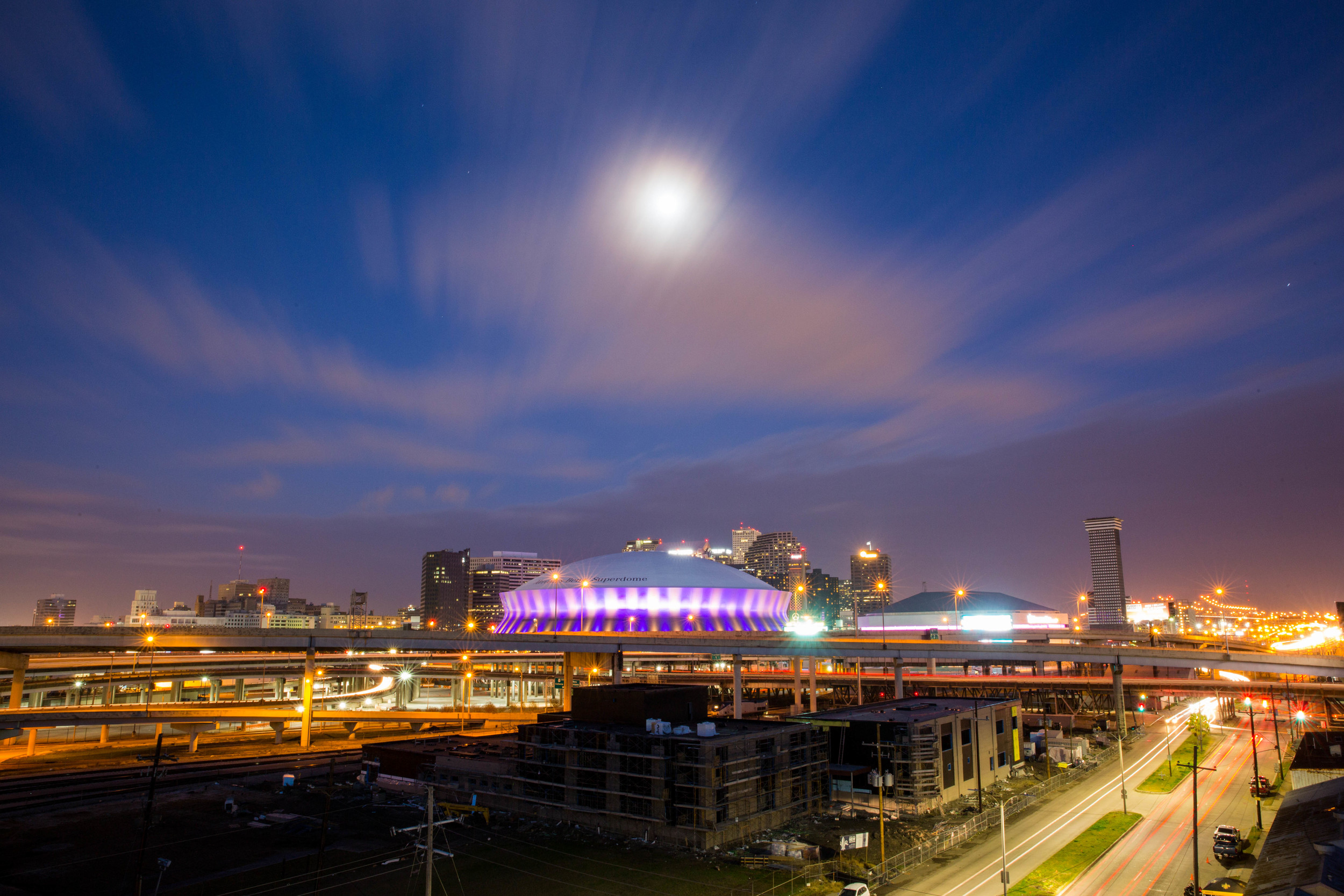 Full Moon over New Orleans