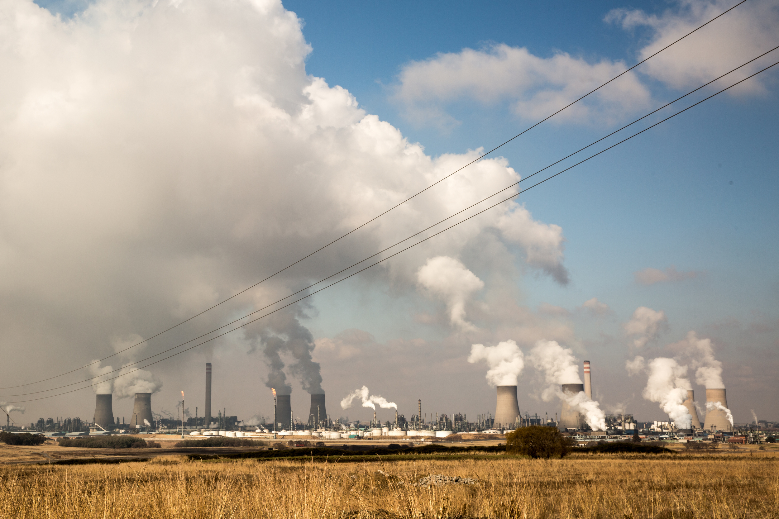 Sasol's plant in Secunda has had the highest rate of C02 emissions on the planet
