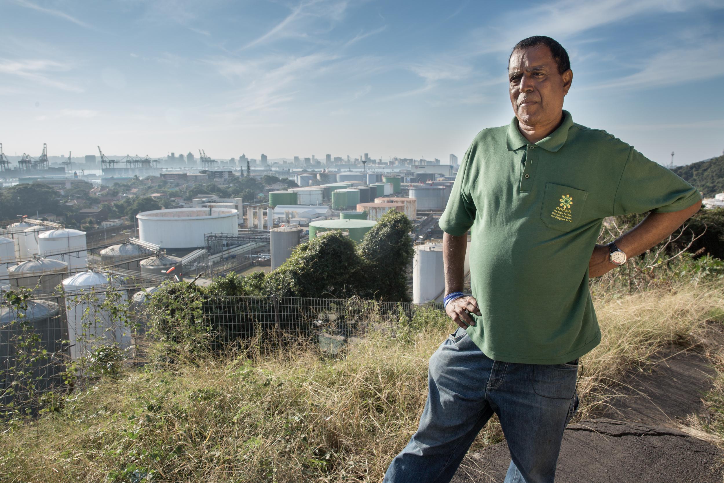 Desmond D'sa - Organizer for The South Durban Community Environmental Alliance (SDCEA)