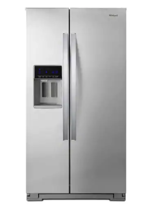 https://www.lowes.com/pd/Whirlpool-20-6-cu-ft-Counter-depth-Side-by-Side-Refrigerator-with-Ice-Maker-Fingerprint-Resistant-Stainless-Steel/1000356423