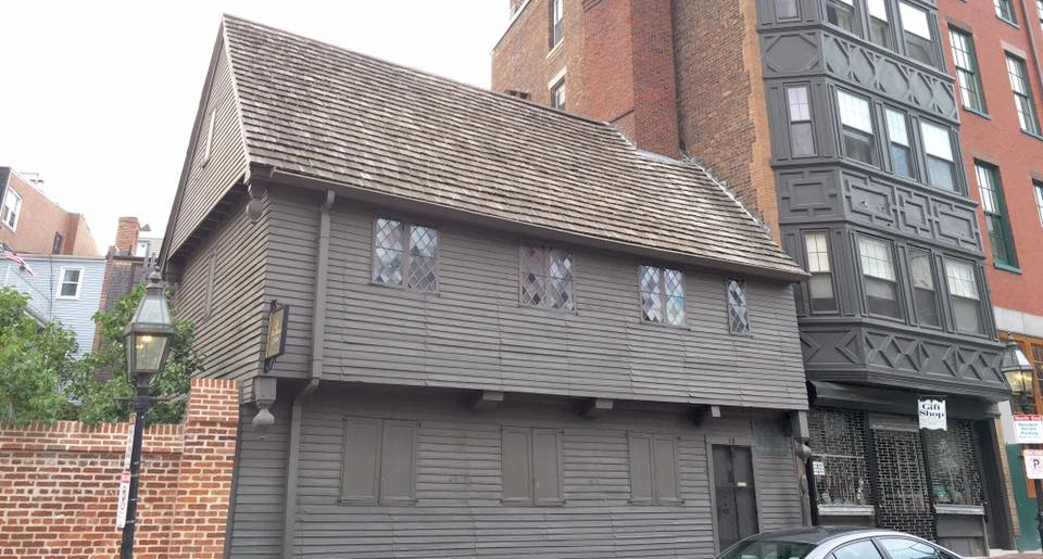 The Paul Revere House!