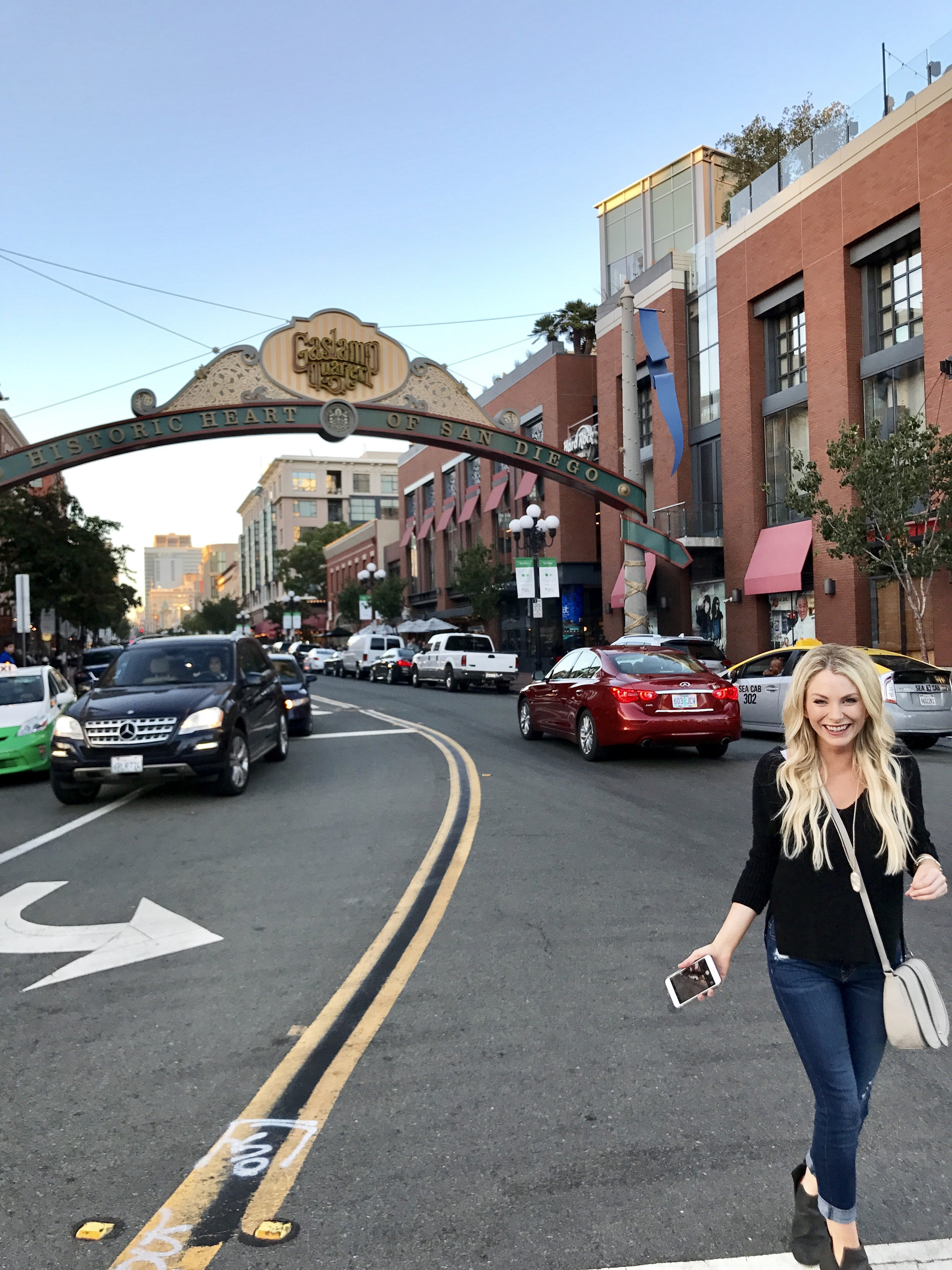 The Gaslamp has tons of restaurants and shopping!