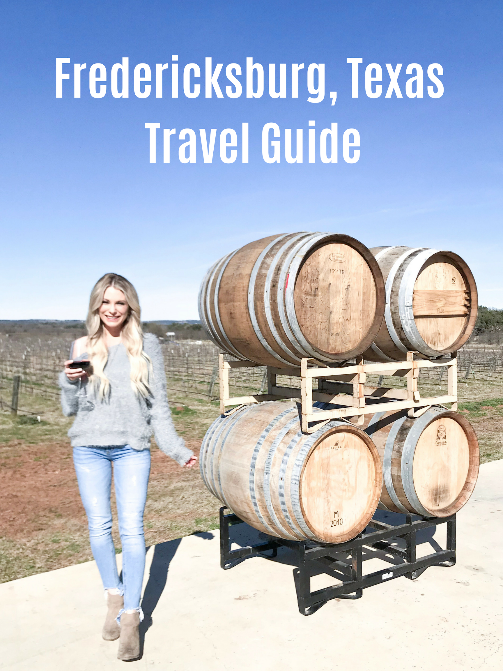 Fredericksburg Texas Travel Guide - Hey y'all! We just got back from another fun weekend in Fredericksburg! I love going to Fredericksburg for a quick weekend getaway from Austin because it is always so relaxing and easy to get to! If you haven't been to Fredericksburg in a while it is really growing like crazy! There are so many wineries, cute vacation rentals, and restaurants! I get so many questions about where we like to go, where we stay and what we do there! So I wanted to share our recommendations with you guys here!CLICK HERE TO READ MORE…