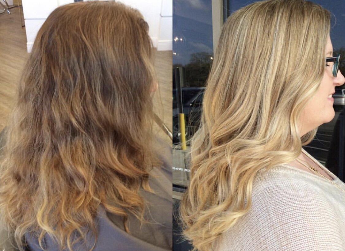 Hair color Tones