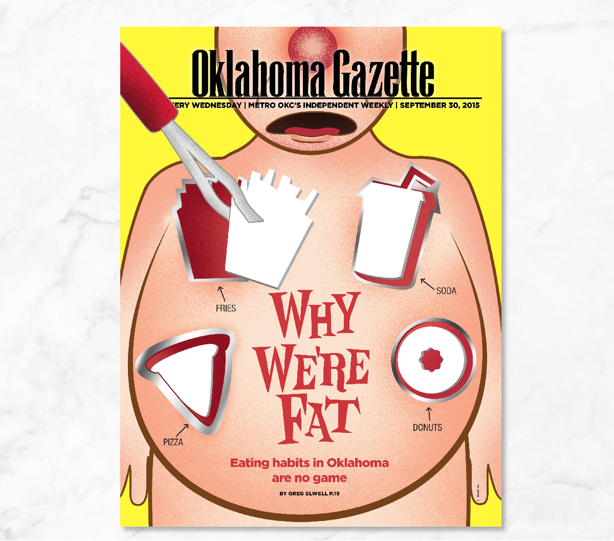 Erin DeMoss - Oklahoma Gazette Cover