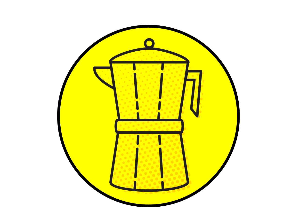 Erin DeMoss - Illustration - Coffee Icons