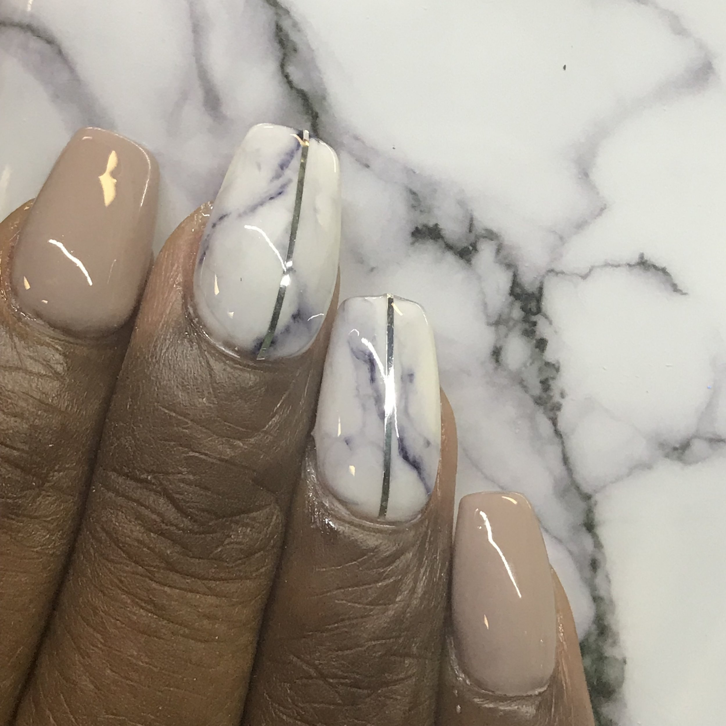 matching marble