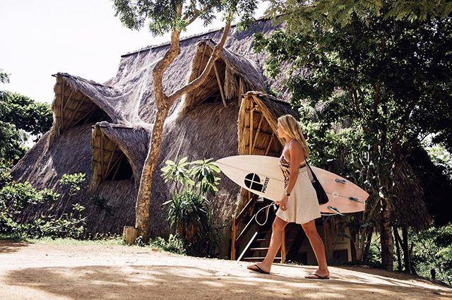 Surf sessions & jungle forts #maderaslife 📷:@jackjohns 👸🏼:@lauraloucrane
