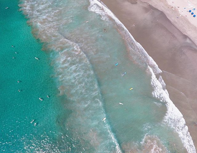 Beach Days. #maderaslife 🚁📷:@dailyoverview @benjaminrgrant