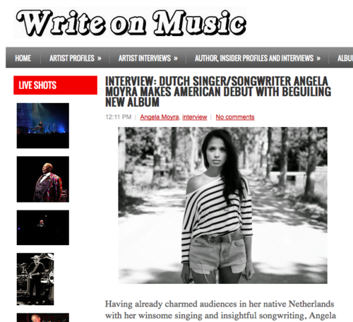 Write on Music, October 2014