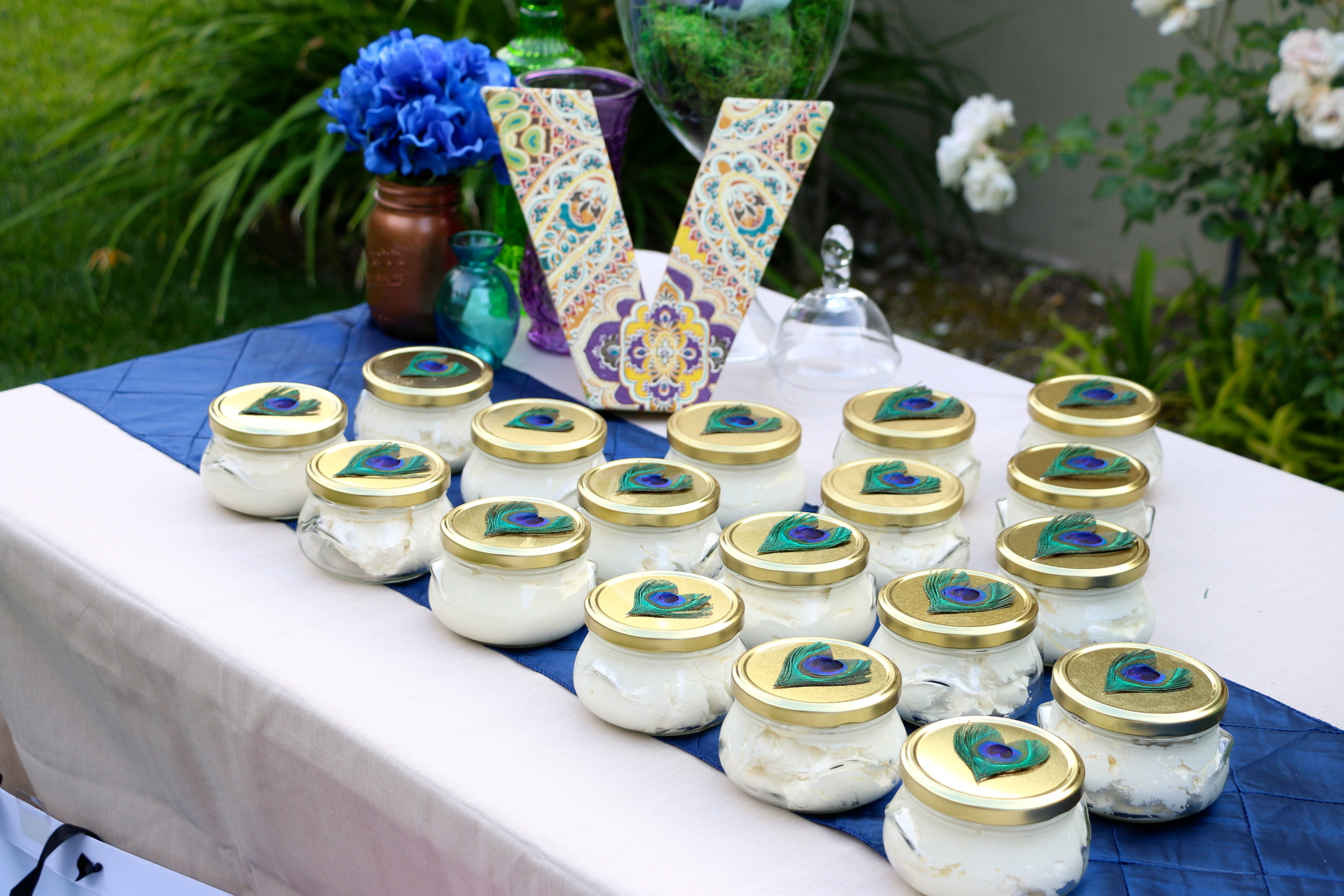 Best favors ever! The Perfect Peacock Party - inJOY The Party!