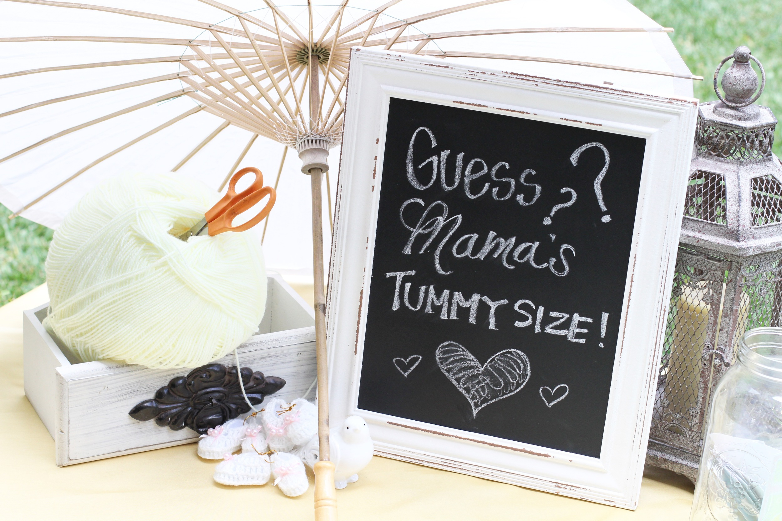 A dream-come-true vintage birdie themed baby shower! - Prepackaged and Ready to Rent from @inJOYtheParty!