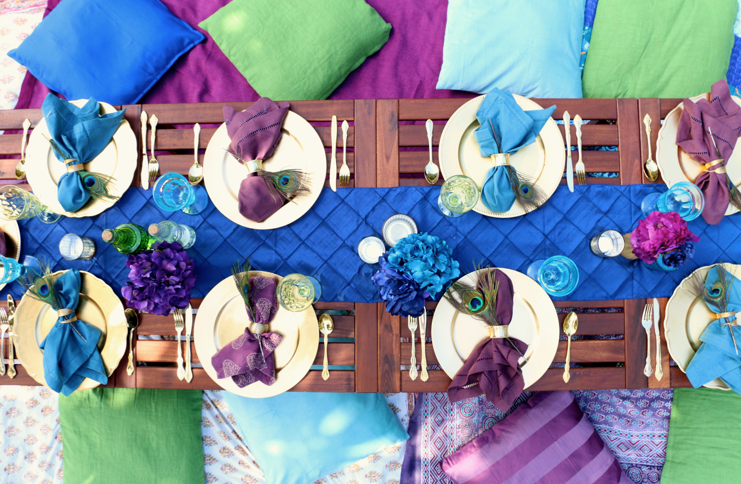 How to create the perfect Peacock Party! - inJOY The Party