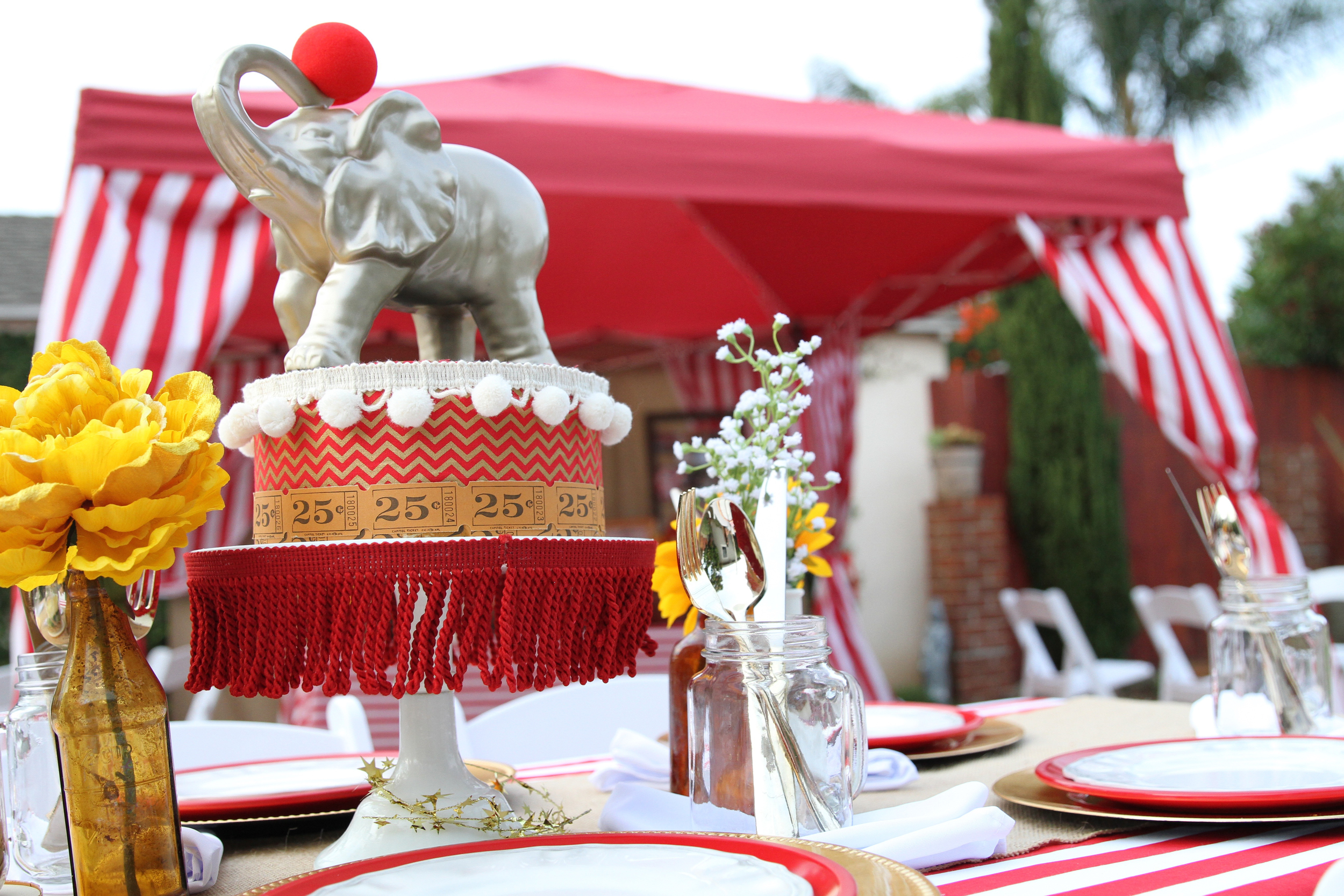 The best party on Earth! A perfectly executed circus themed party - Prepackaged and ready to rent from inJOY The Party! @inJOYtheParty