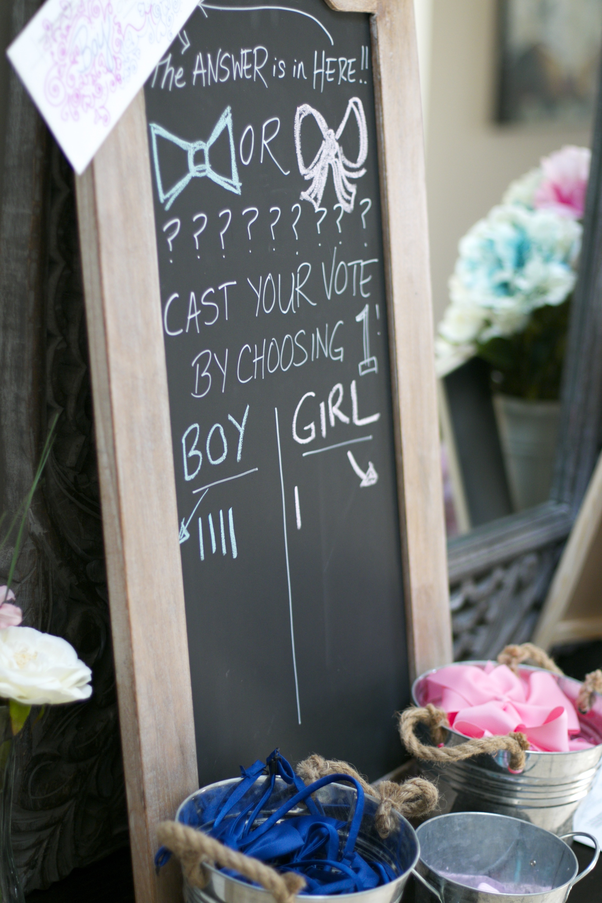 How to pull off a fun-for-all Gender Reveal Party! - inJOY The Party