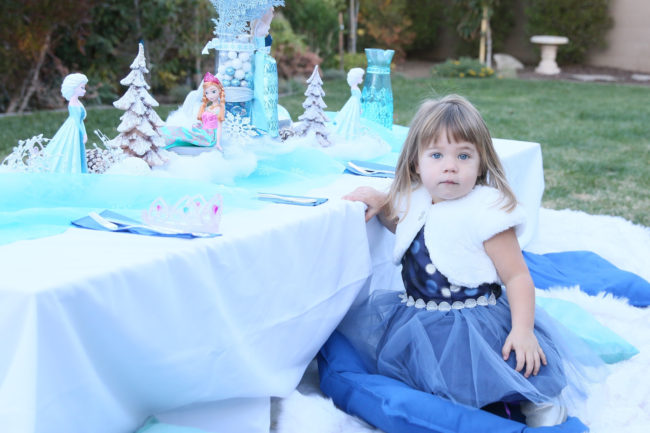An Ice Princess FROZEN Party - Decor for rent! @inJOYtheParty