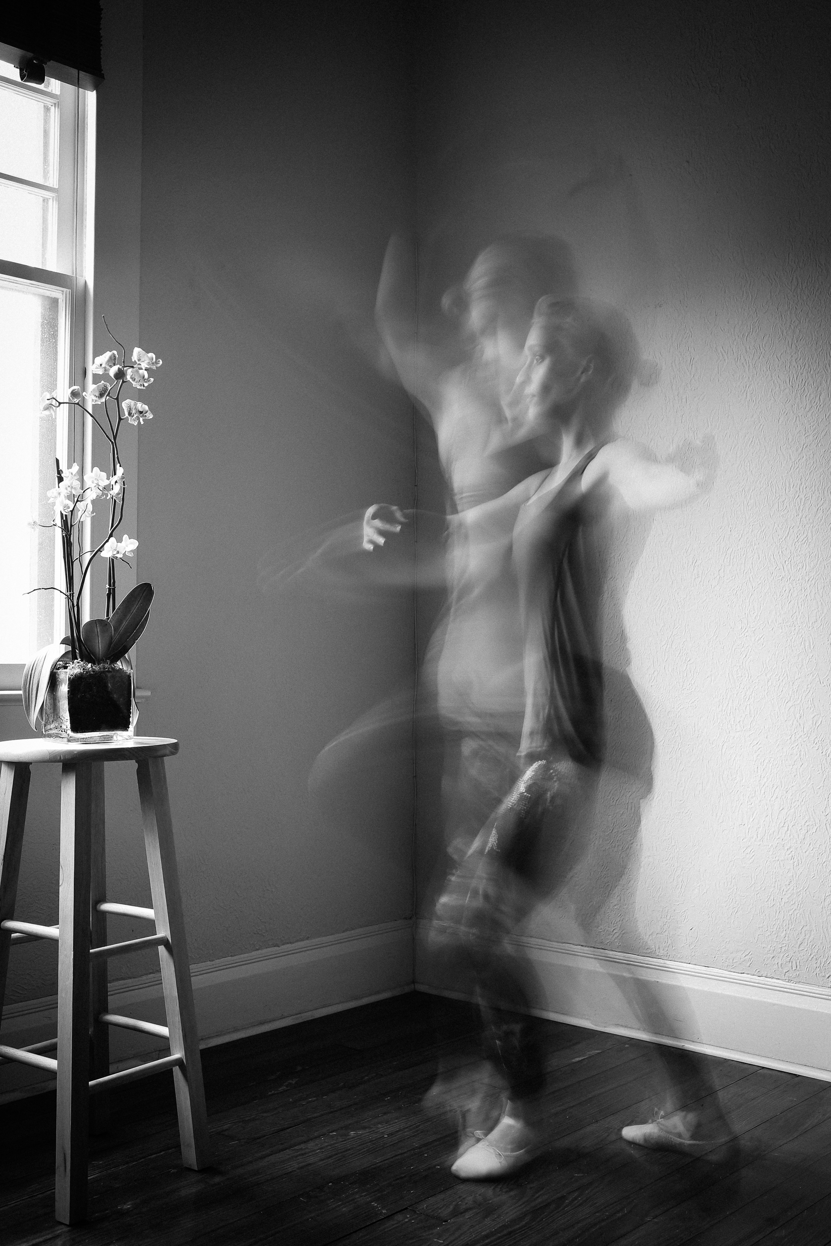 Dance. A self-portrait.