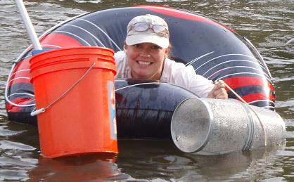 Heather Soulen.Image credit: Smithsonian Environmental Research Center.