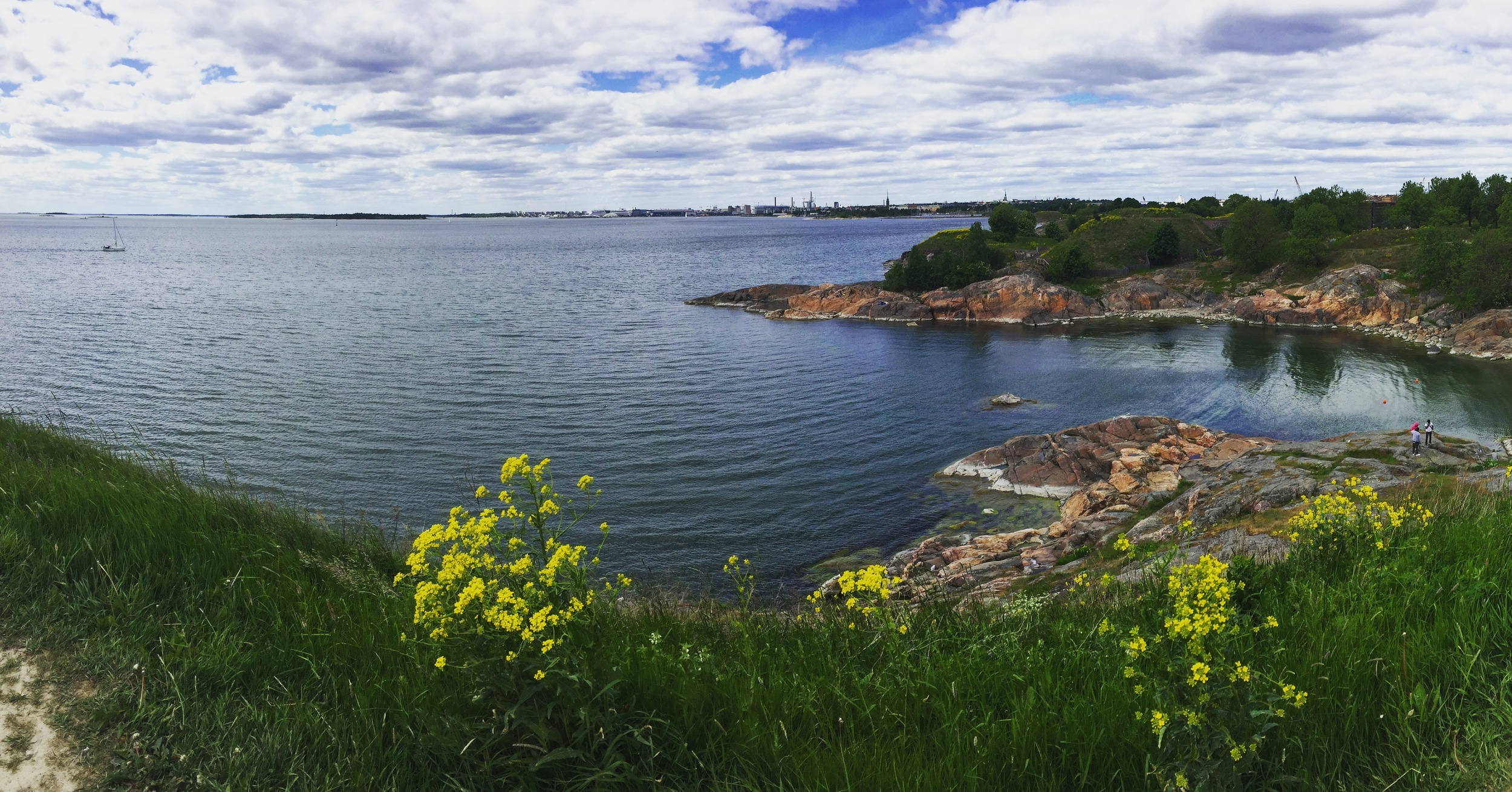 Suomenlinna - the Sea Fortress - Finland. Photo by Paige Jarreau.