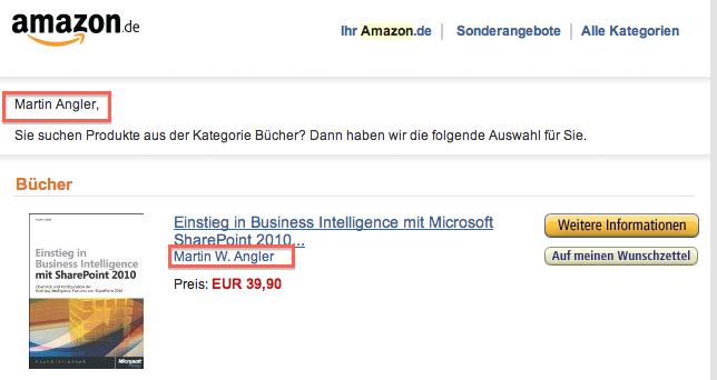 Screenshot Recommendation Fail