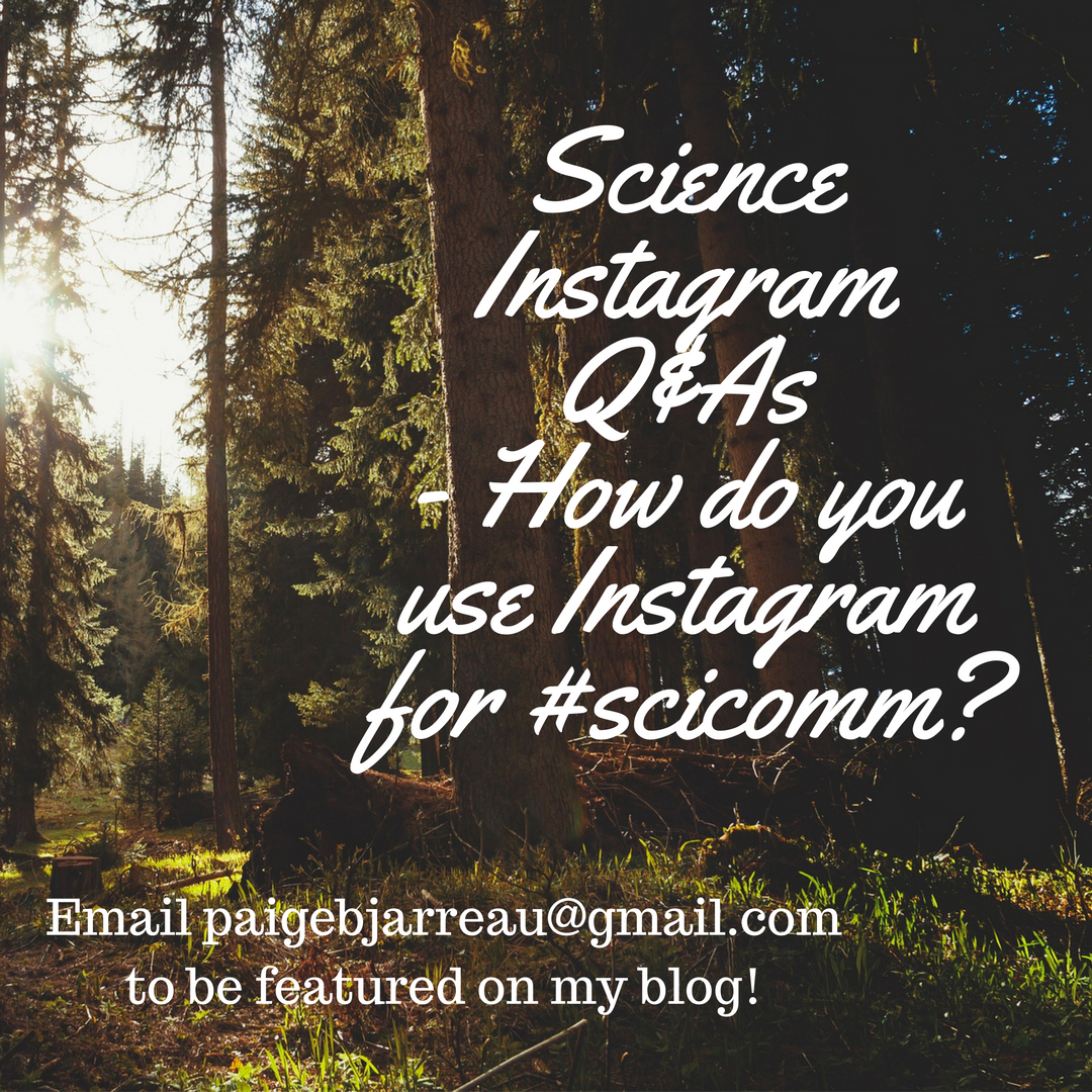 Find me on Instagram at @scicommnerd (or @fromthelabbench if you like circus arts!)