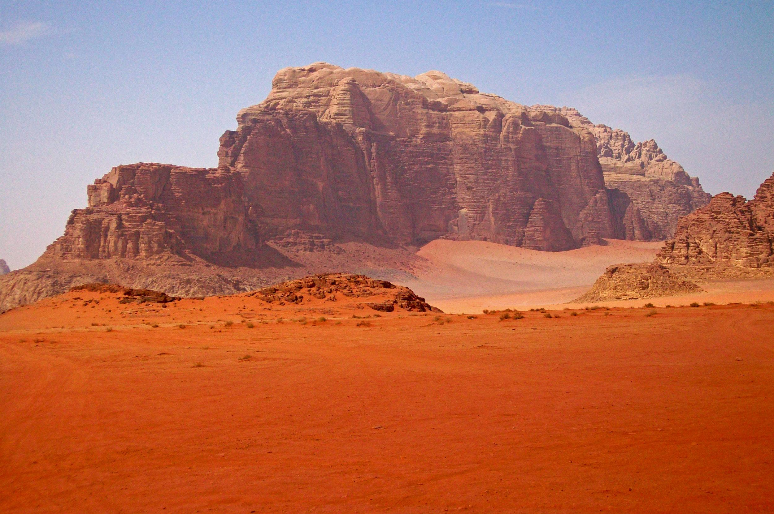 Earth, or Mars? Image by  Daniel Case , via Wikimedia,CC BY-SA 3.0.
