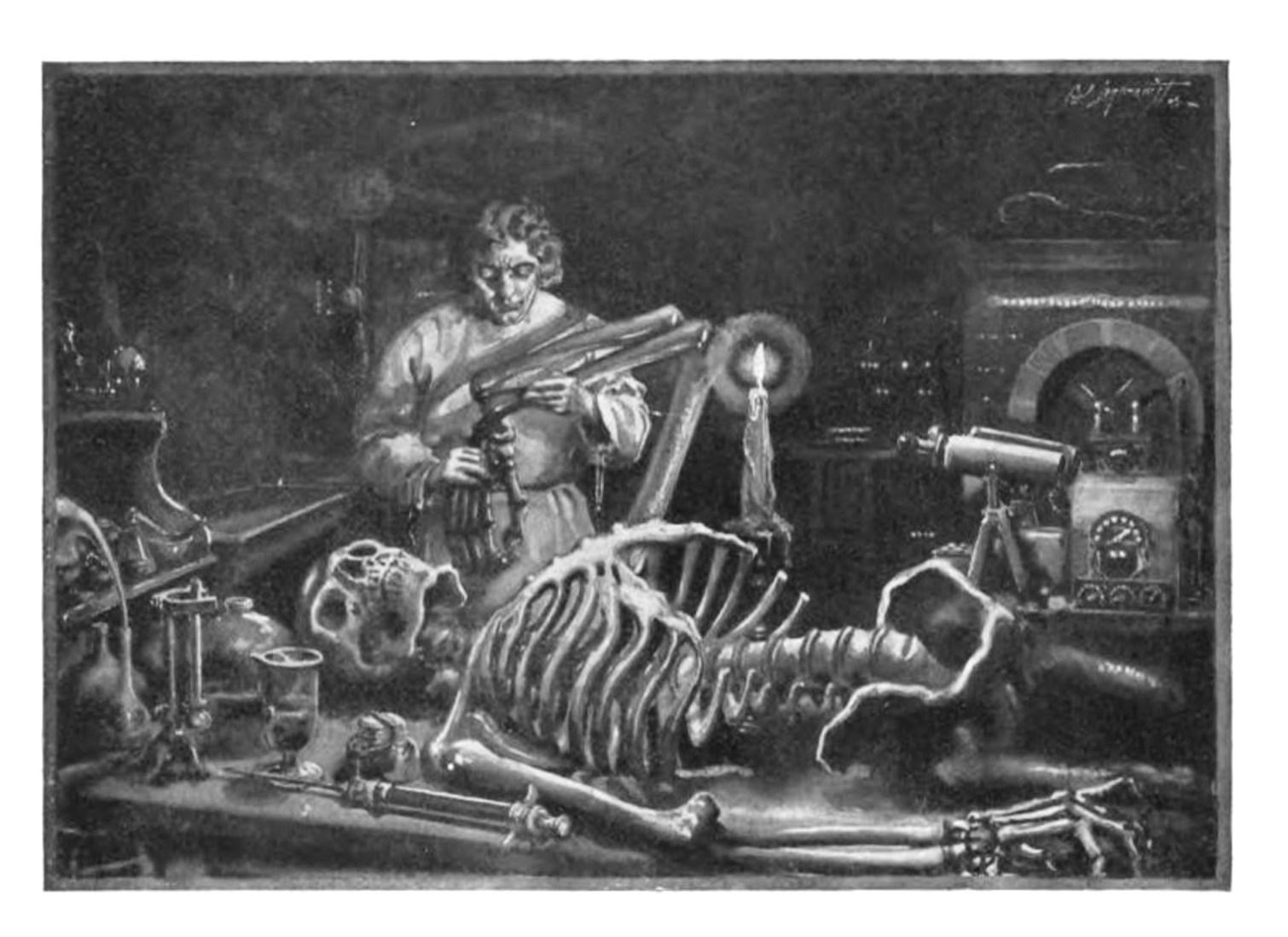 Mary Wollstonecraft Shelley's Frankenstein. Public Domain image.