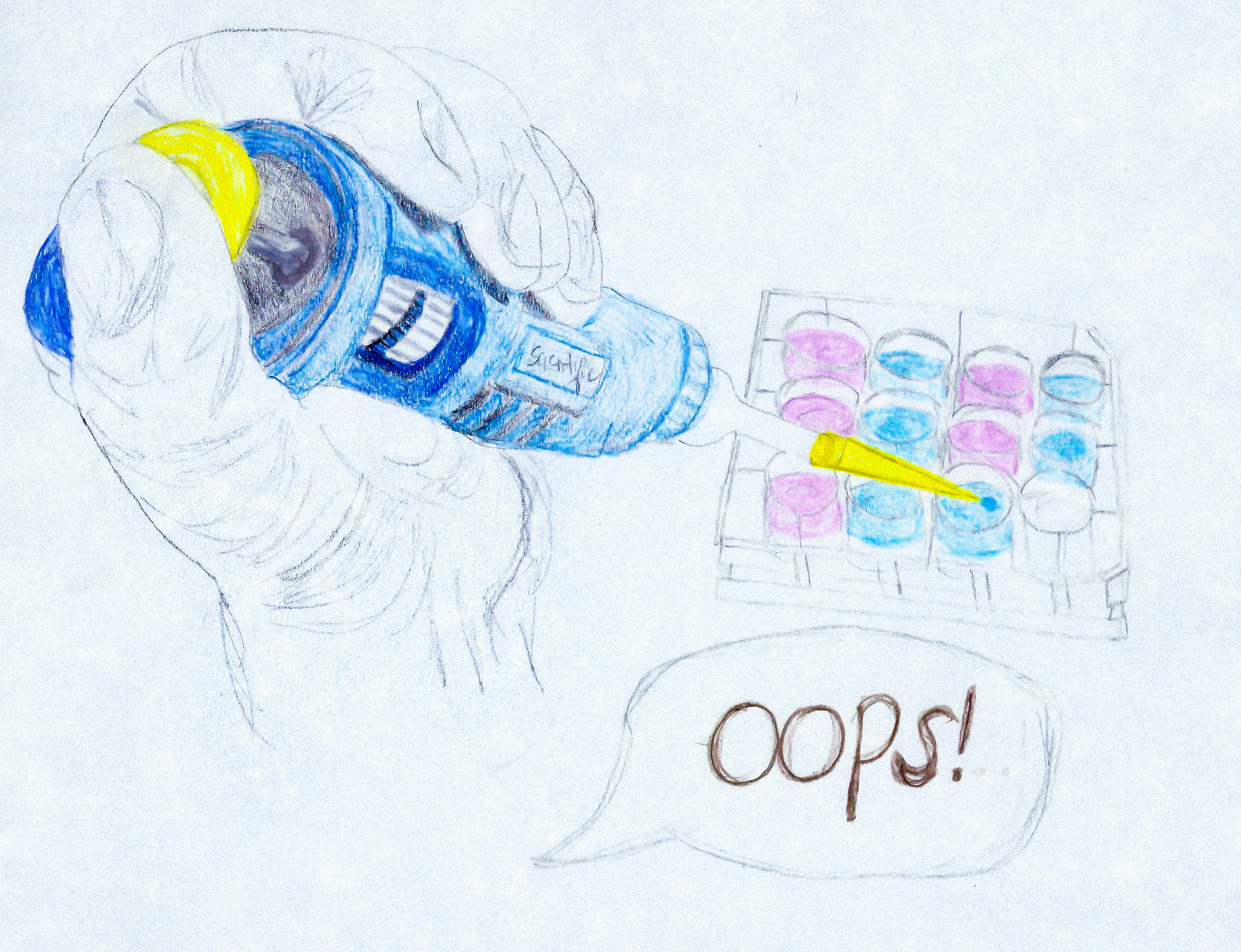"""Oops!"" Disclose thy research flaws. Illustration by Paige Jarreau."