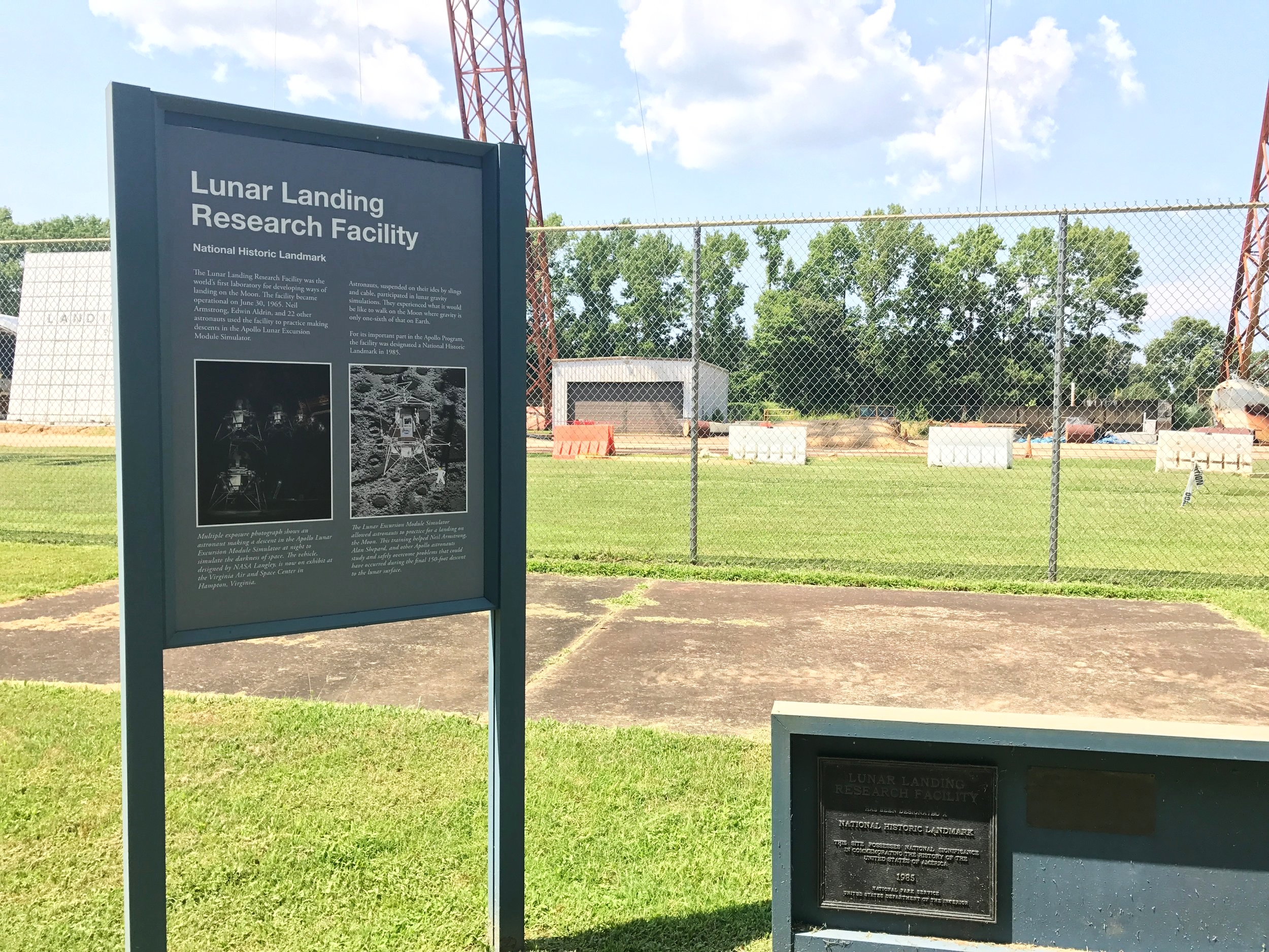 A National Historic Landmark for Apollo landing testing