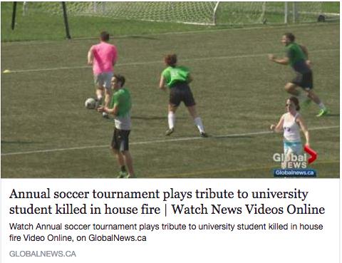 Global News - Brenna Innes Memorial Soccer Tournament,May 2017