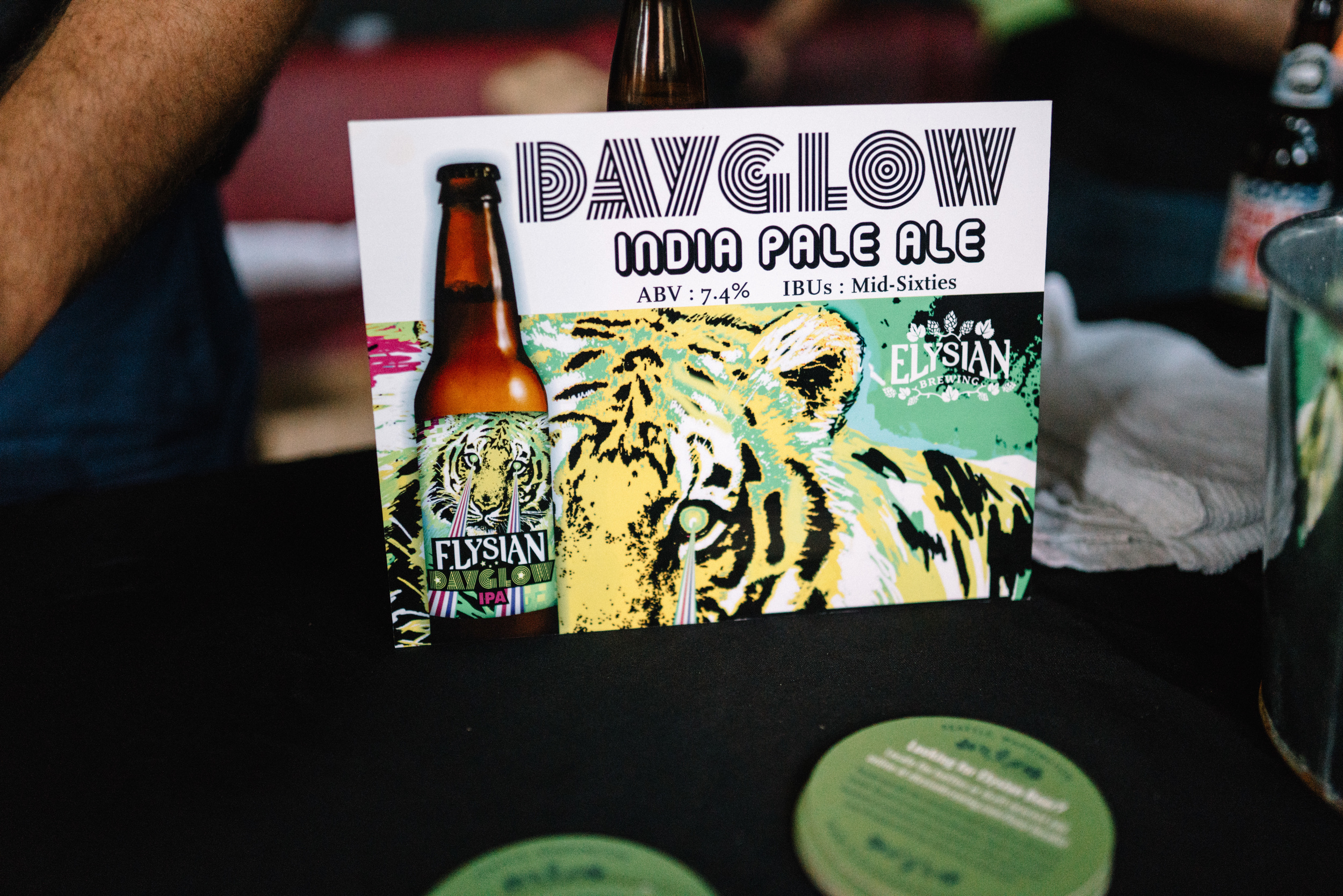 The new-age laser sighted Tiger, hence could be called a Liger? - Elysian Dayglow IPA