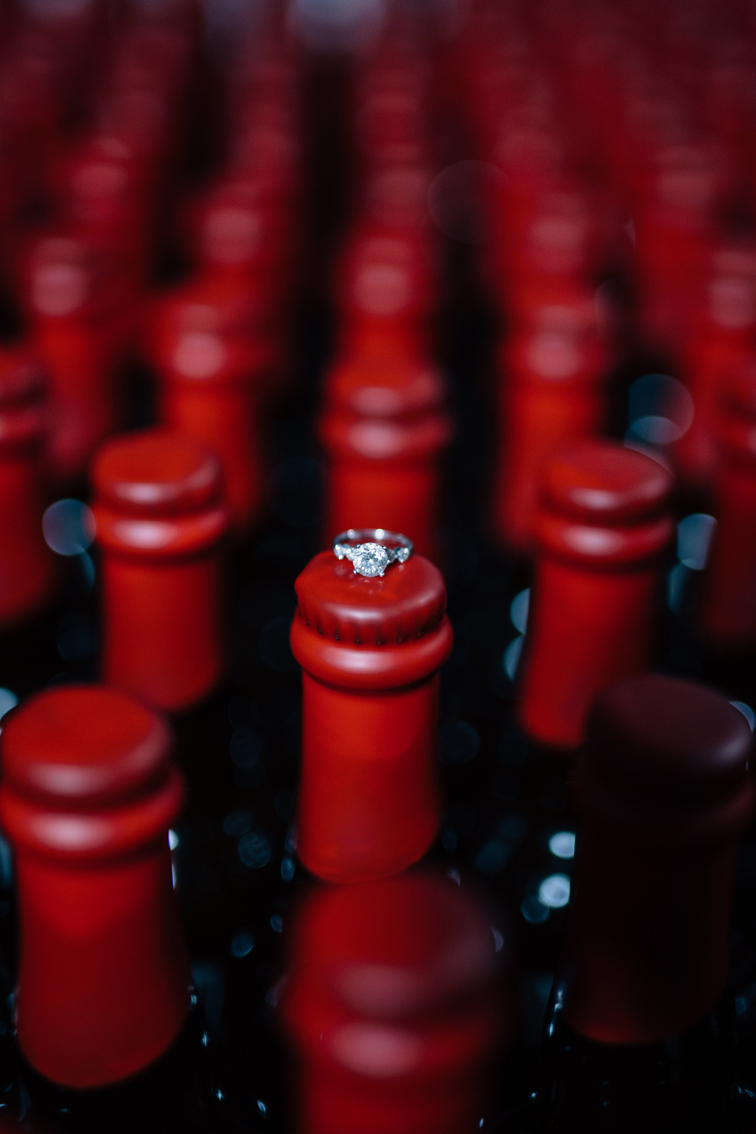 Another ring shot - On top of the Rare Barrel bottles