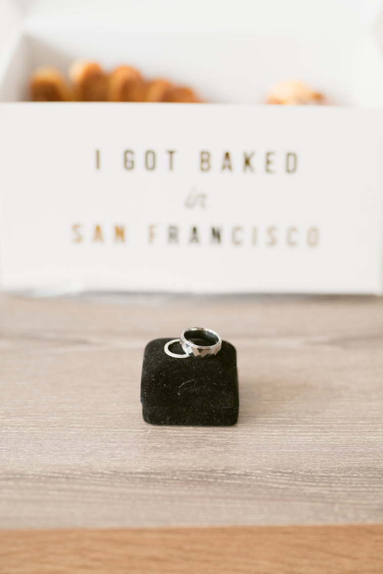We began our day at their quaint home, as the newlyweds to be were getting ready for their big day. Nothing like a box of tasty pastries from Mr. Holmes Bakehouse to ease the nerves and help prepare for the day.