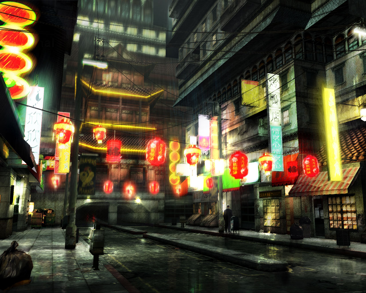 Chinatown The Matrix Path of Neo