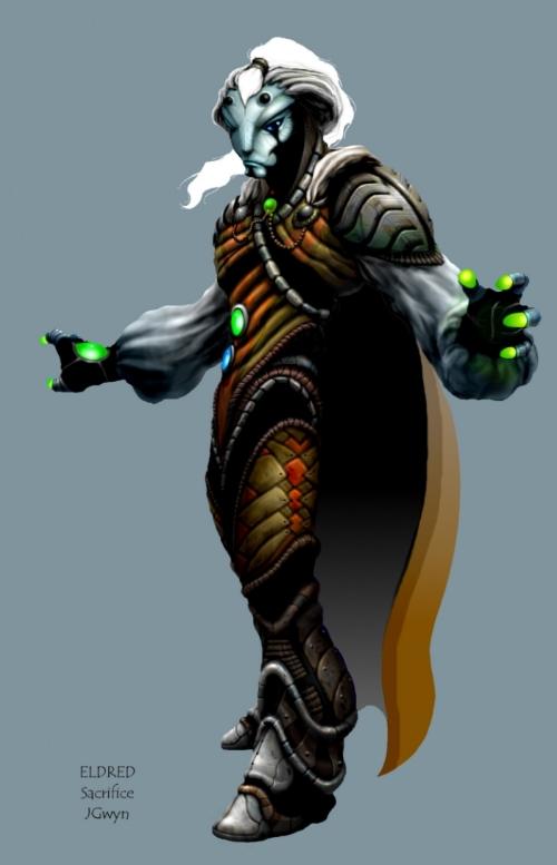 Wizard Concept - Eldred