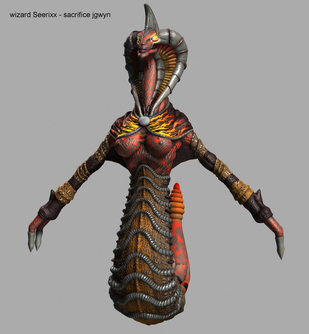 Wizard Model - Seerix