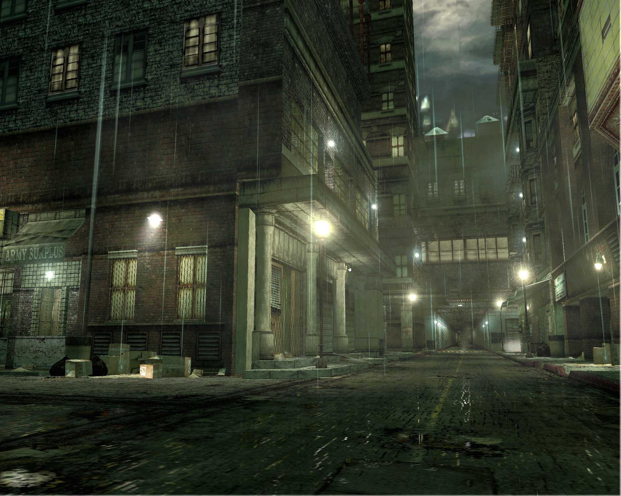 Street demo - The Matrix Path of Neo