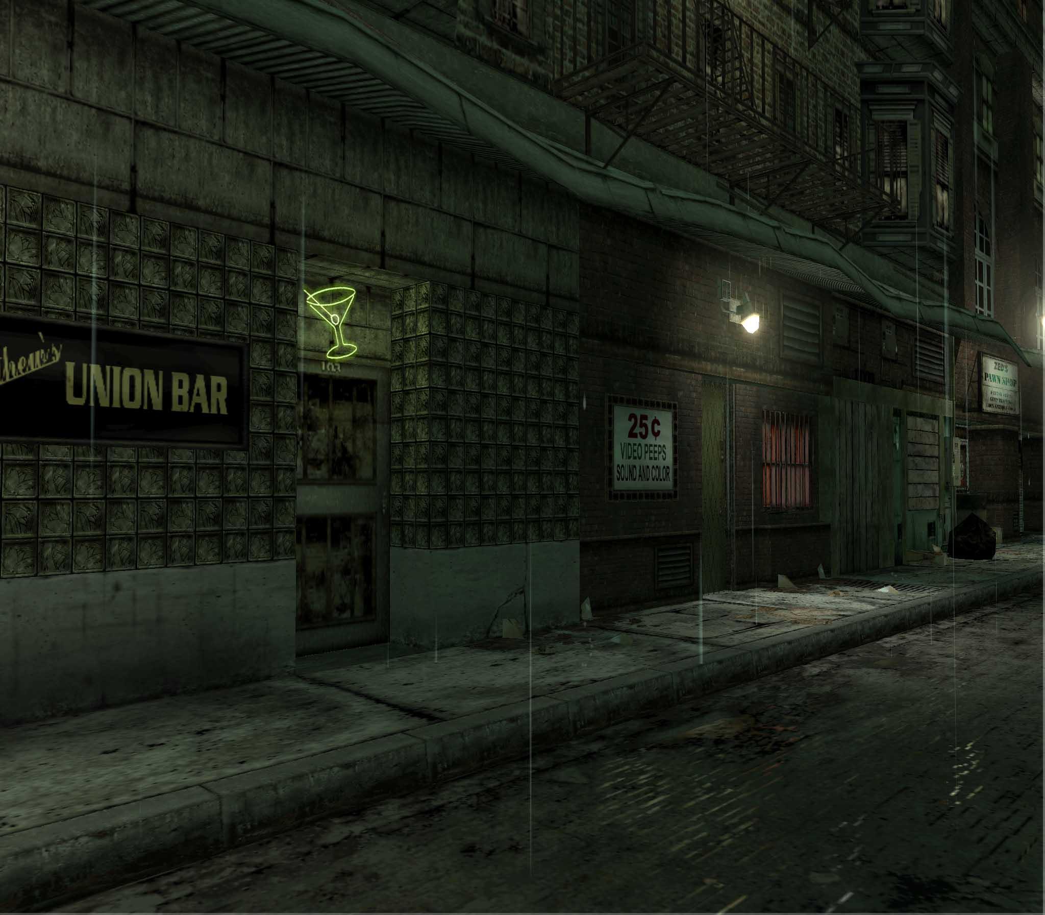Bar front - The Matrix Path of Neo