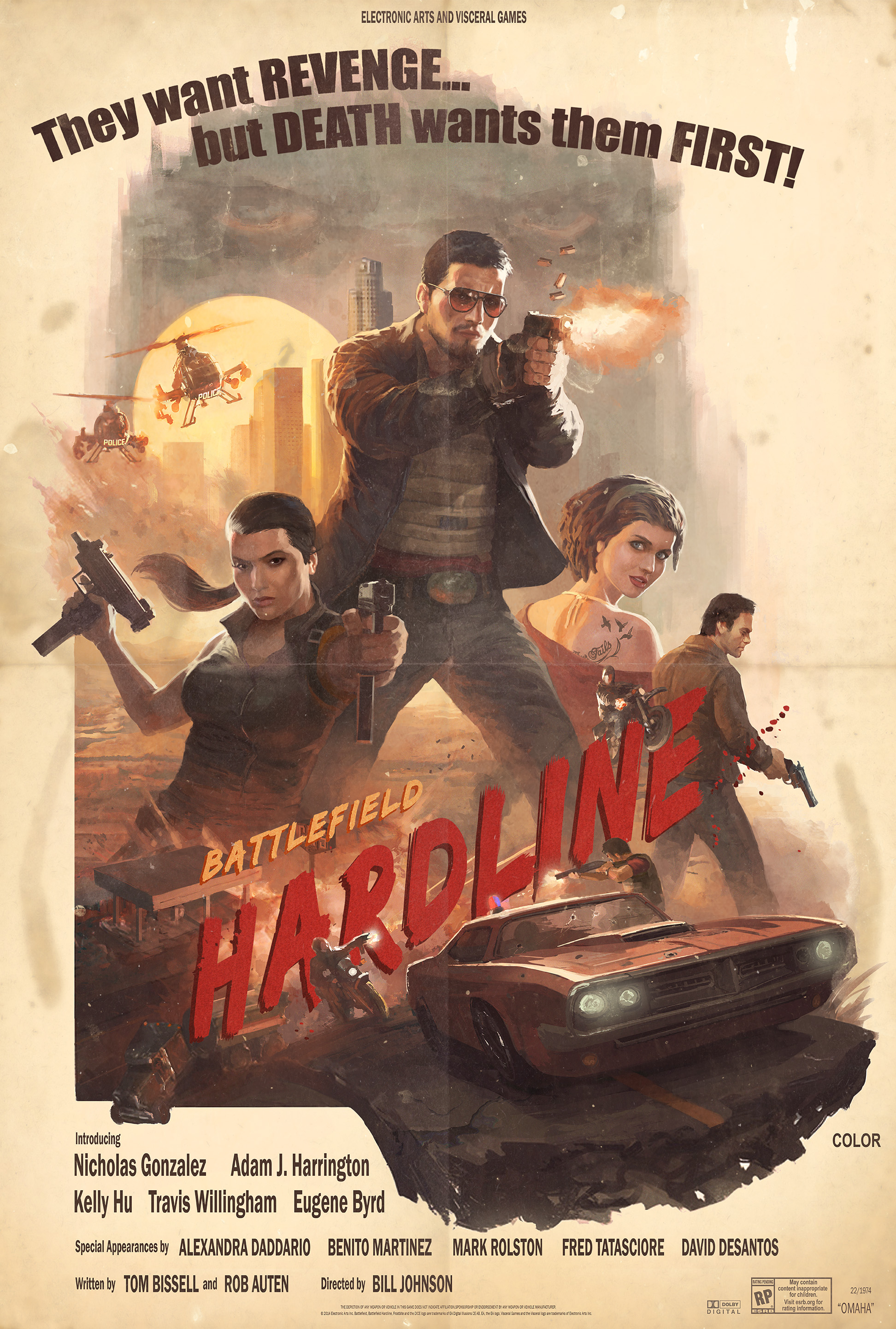 Battlefield Hardline Alt Key Art