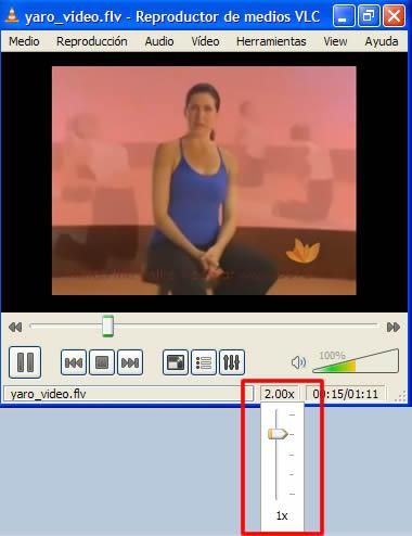 Acelera VLC media player