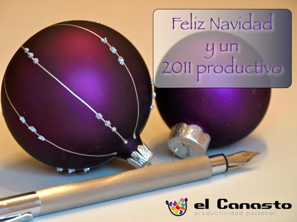 Feliz Navidad y un 2011 productivo